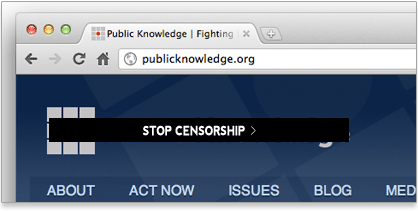 Censorship logo example